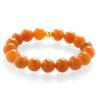 Oranžový avanturín - náramok